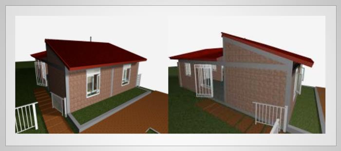 Comportamiento y confort t rmico de vivienda en la ciudad - Aislante de calor para techos ...